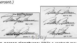 Marilyn Monroe - Lettre D'autographe Signée À La Main, Très Très Rare, Légende Hollywoodienne