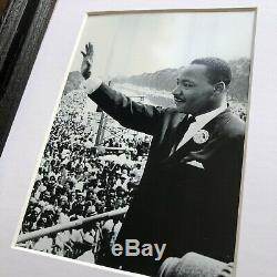Martin Luther King, Jr Bas, Beckett, Loa, Autographe Signé À La Main, Discours De 1961