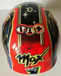 Max Biaggi Main Signée Bieffe Replica Helmet