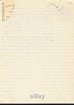 Mexique Zapata Emiliano Jour Pour 1917 Signée