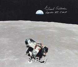 Michael Collins Apollo 11 Aigle Ascendante A La Main Signée 8 X 10 Photo Withcoa Mint