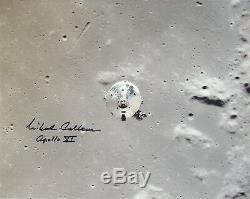 Michael Collins Apollo 11 Columbia Nasa Signé A La Main 8 Photo 10 Avec Cova