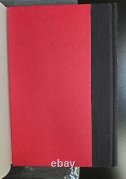 Michael Jackson Autographié Handsigned In Red Rare Moonwalk 1st Edition 1988