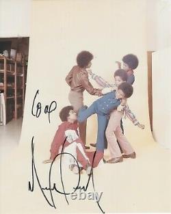 Michael Jackson Signé À La Main 8x10 Couleur Photo Jackson5 Avec Autographe Authentique