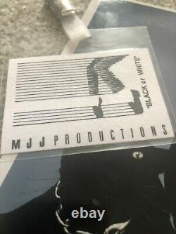 Michael Jackson Signé Promo 8x10 Autographe / Passage Black Ou Blanc