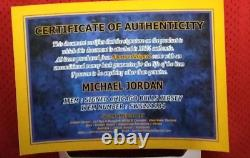 Michael Jordan 23 Maglia Jersey Autografata Signé Autographe Hand Signé