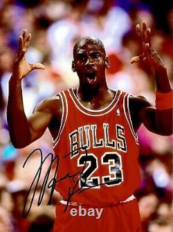 Michael Jordan Autogramm + Zertifikat Main Signée Autograph + Coa