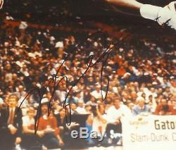Michael Jordan Bulls Signé À La Main Autographé Sur Mesure Photo Framed16x20! Avecproof