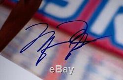 Michael Jordan Énorme Affiche Dédicacée Brillant 30.3x44.8cm Main-autosigné Withloa