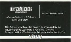 Michael Jordan & Larry Bird Autograph 8x10 Photo Avec Coa Main Signée