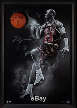 Michael Jordan Taureaux Autographiés Et Dédicacés À La Main, Signés À La Main Par Michael Jordan