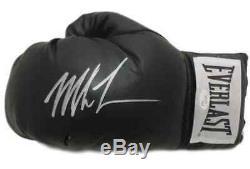 Mike Tyson Autographié / Signé Gant De Boxe Jsa Main Gauche Everlast Noir 14705