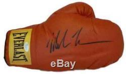 Mike Tyson Autographié / Signé Red Right Hand Everlast Gant Jsa Wpp246379
