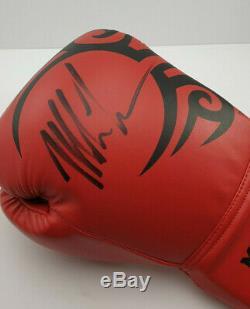 Mike Tyson Main Signe Autographié Officielle Gant De Boxe Unframed Véritable 100%
