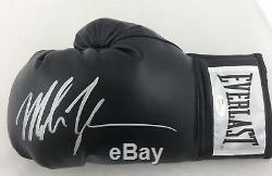 Mike Tyson Signé Everlast Boxe Gant Autographié Main Gauche Jsa Témoin Coa
