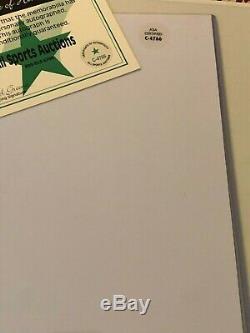Muhammad Ali 8x10 Autographié Photo, Signé À La Main, Authentique, Coa