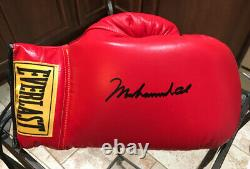 Muhammad Ali Autographié 14 Oz. Gant De Main Droite Gem Mint Un Parfait 10/10