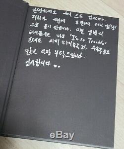 Nuest Nu'est Album Tous Membres Promo Autographié Signé Kpop + Jr Hand Message