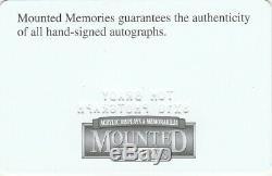 Photo Autographe 8x10 De Tom Brady Avec Mémoires Montées Coa Signé À La Main / Auto