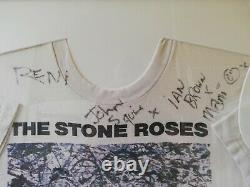 Pierre Roses T-shirt Signée À La Main Par La Bande