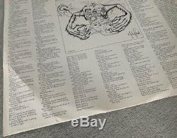Pochette En Papier Pour Michael Thriller Lp Autographe Signé Michael Jackson, Avec