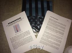 Rammstein Amerika Signée À La Main Promo Dossier De Presse Autographié Deutschland