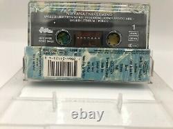 Rare Kurt Cobain Original Hand Signed Autographed Album Cassette Nevermind Coa