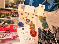 Rare Newland Beaucoup! 25 Articles Originaux + Autographe Signée À La Main Michael Jackson
