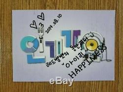 Red Velvet 2014 Sm Officiel Autographié Signée À La Main Irine, Joie, Wendy, Seulgi
