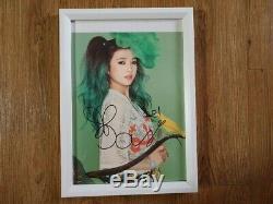 Red Velvet 2015 Sm Officiel Autographié Signée À La Main Irine, Joie, Wendy, Seulgi
