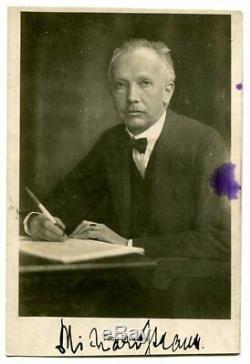 Richard Strauss, Orig. Autogramm, Autograph, Main Signée