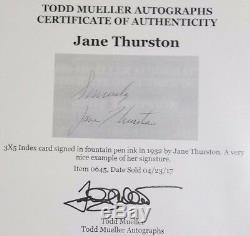 Roi Des Cartes Howard & Jane Thurston, Présentoir Signé Par Mueller