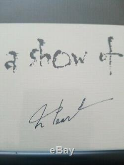 Rush Mains Levées Lithographie Signée Art Tous Les 3 Lifeson Peart Lee Autograph 89