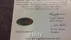 Sammy Sosa Batte De Baseball Autographiée Et Signée À La Main Reggie Jackson. Com Coa Wow