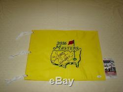Scotty Cameron Signée À La Main 2016 Master Drapeau Jsa # Cc82601 Golf Autograph
