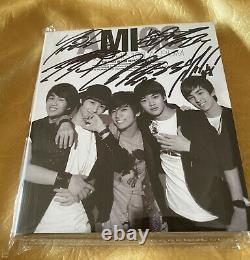 Shinee Signé À La Main Autographié Album Amigo Limité + Signé Photo Rare K-pop