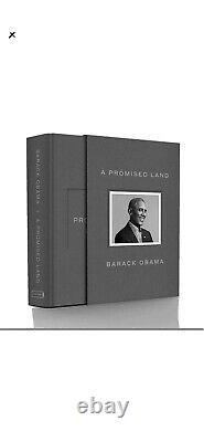 Signé Barack Obama Un Livre Promis Land Deluxe Edition Autographié À La Main