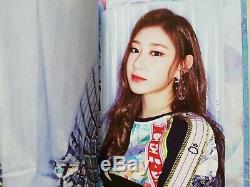 Signé Itzy It'z Me It'z Icy All5 Main Autograph Yuna Ryujin Chaeryeong Lia Yeji