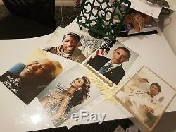 Signée À La Main 2 Pac, Nelson Mandela, Barack Obama, Al Pacino, Beyonce