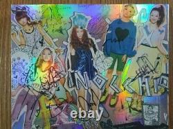 Sm Fx Pinocchio Album Autographié Signé À La Main Krystal, Sulli, Amber, Loona