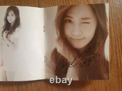Snsd 1er Mini Gee Album Fan Sign Event Autographed Hand Signed