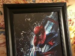 Stan Lee Signée À La Main Autographié Encadré Par Coutume 11x17 Photo Spider-man Avec Jsa Coa