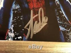 Stan Lee Signée À La Main Autographié Personnalisée Encadrée Image Spider-man Avec Psa Coa