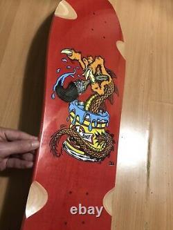 Steve Caballero Pinstriper Autographié + Numéroté Planche À Roulettes In-main