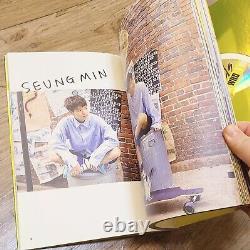 Stray Kids Je Suis Qui Promo Album Autographe Signé À La Main Kor Seller Hyunjin Felix