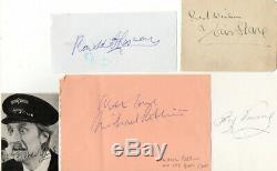 Sur Les Bus Autographes Signées Par 6 Cast Handsigned Aftal