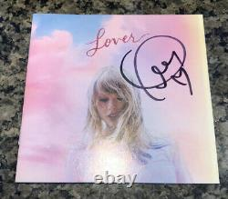 Taylor Swift Autographied Hand Signed Lover Booklet + Me! CD Simple Beckett Cert