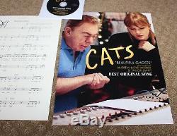 Taylor Swift Cats Chanson Originale Fyc Promo Autograph Signée À La Main Musique Et CD Partitions