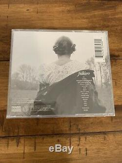 Taylor Swift Folklore Signé Et Autographié CD Sealed Dans Navires Main Aujourd'hui