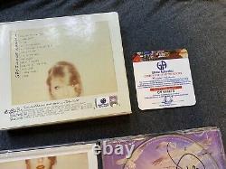 Taylor Swift Hand Signé 3x 1989 CD Autograph Coa Gai Rare